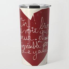 Le Cœur Travel Mug