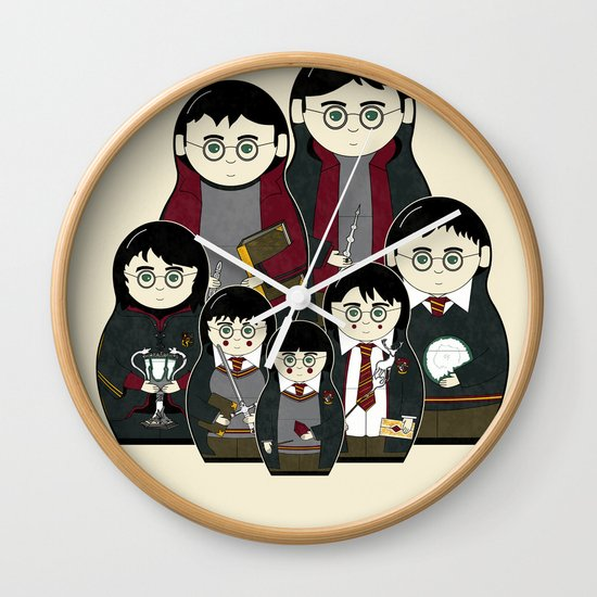 The Magic Within Wall Clock