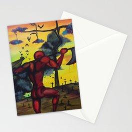 The Red Giant Stationery Cards