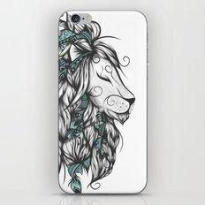 Poetic Lion Turquoise iPhone & iPod Skin