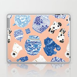Chinoiserie Curiosity Cabinet Toss 1 Laptop & iPad Skin
