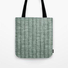 Moss Green Jersey Knit Pattern Tote Bag