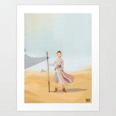 Scavenger Girl Art Print