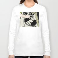 dj Long Sleeve T-shirts featuring DJ! by Parrish