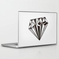 diamond Laptop & iPad Skins featuring Diamond by Galitt