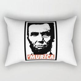 Abraham Lincoln Murica Rectangular Pillow