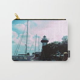 A Busy Harbour Carry-All Pouch