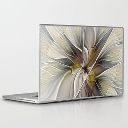 Floral Abstract, Fractal Art Laptop & iPad Skin