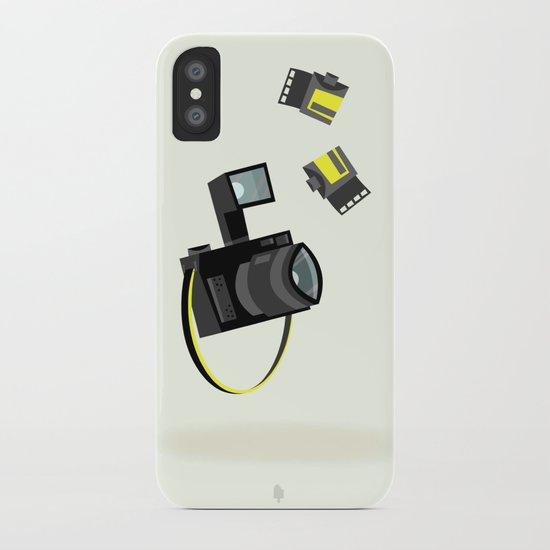 Camera & Film iPhone Case