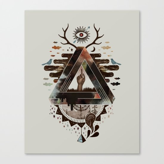 All Impossible Eye Canvas Print