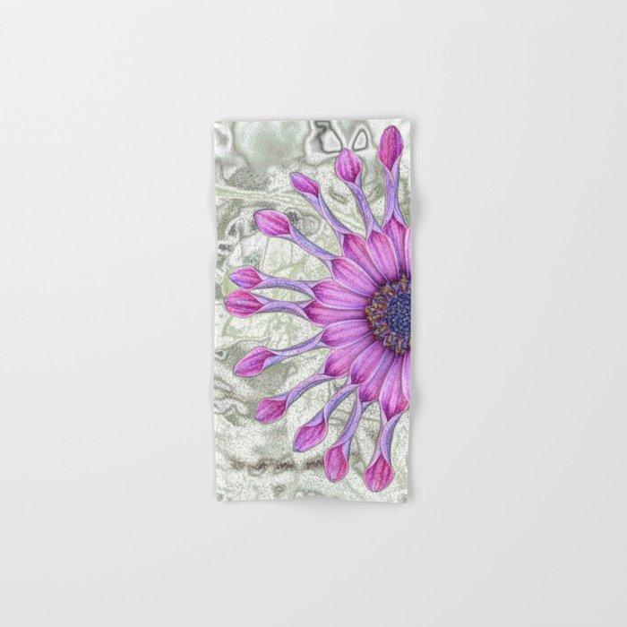 Daisy (flowers collection) Hand & Bath Towel