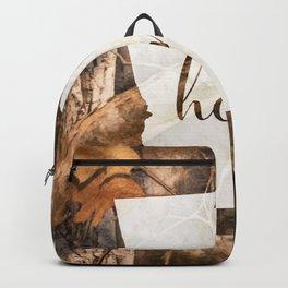 Georgia is Home - Camo Backpack