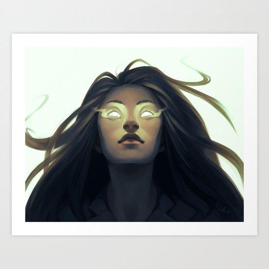 Precognition Art Print