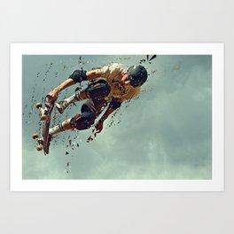 skate sport 5 Art Print