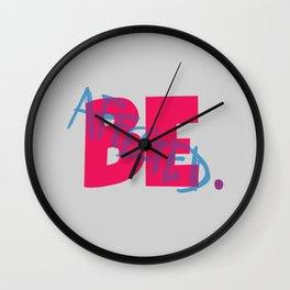 Affected Wall Clock