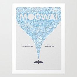 Mogwai at Workplay Theatre Art Print