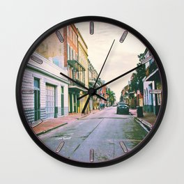 To Miss New Orleans Wall Clock