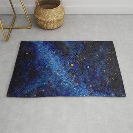 Space universe galaxy I am Here awakening Rug
