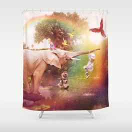 The Jungle Book Shower Curtain
