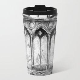 Lion in the castle Travel Mug