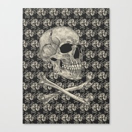 Crossbones Canvas Print