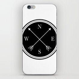 Directions \\ Abstract Compass Design iPhone Skin