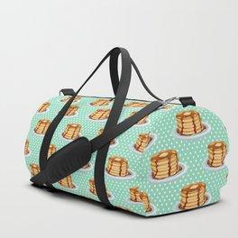 Pancakes & Dots Pattern Duffle Bag