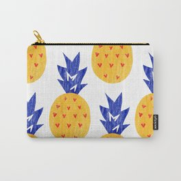 pattern pineapple Carry-All Pouch