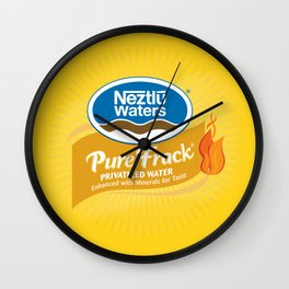 Outbreak Wall Clock