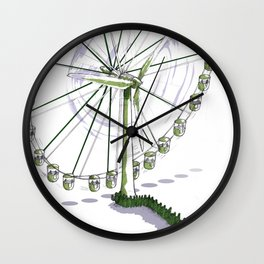 Wisdom of scientists Wall Clock