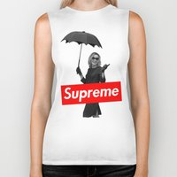 supreme Biker Tanks featuring The Supreme by Dandy