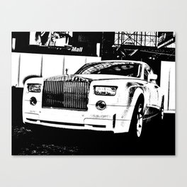 Tough and Proud Canvas Print