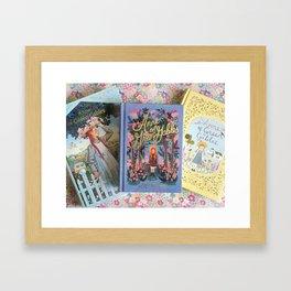 Anne of Green Gables Books Framed Art Print