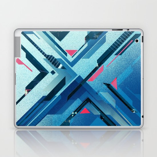 Geometric - Collage Love Laptop & iPad Skin