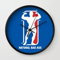 nba Wall Clocks featuring NBA by Free Specie
