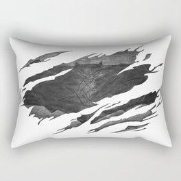 Bat-man BvS Ripped Symbol Rectangular Pillow