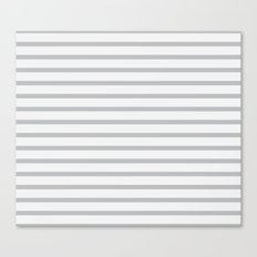 Gray Lines Canvas Print