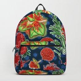 Australian Native Floral Print Backpack