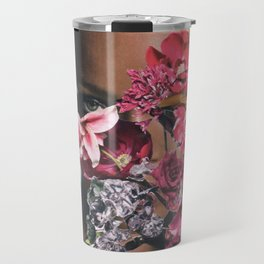 Rihanna Floral Travel Mug