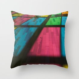 Couleur - colors Throw Pillow