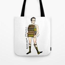 "Rupert ""Research"" Giles Pin up Tote Bag"
