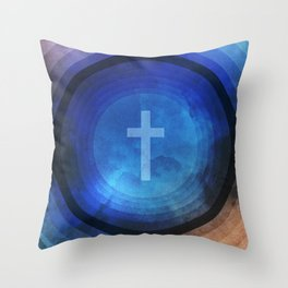 Thanks Be To God Throw Pillow