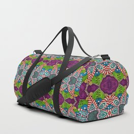Gypsy Flower Duffle Bag