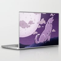howl Laptop & iPad Skins featuring Howl by Samantha Cannon
