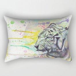 ColorSplash Tiger Rectangular Pillow