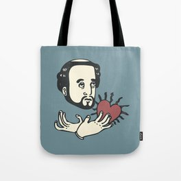 Francis Xavier(Blue) Tote Bag