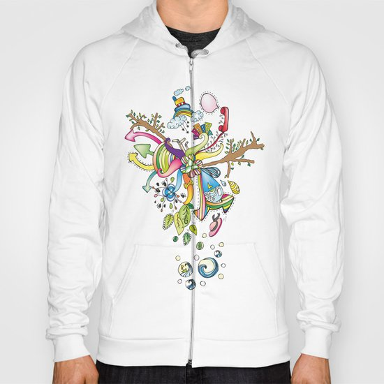 Another Strange World Hoody