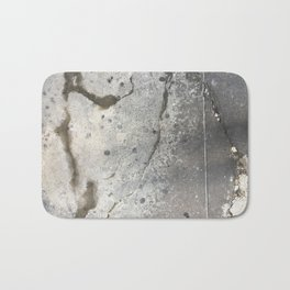 Cracked Stain Dot Streets Bath Mat
