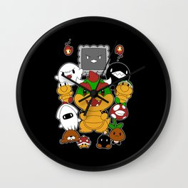 [Super Mario Bros] Baddies! Wall Clock