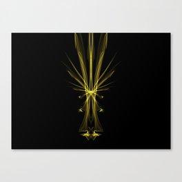 Yellow Amygdala Canvas Print